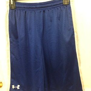 Boys Under Armour Mesh Work Out Short